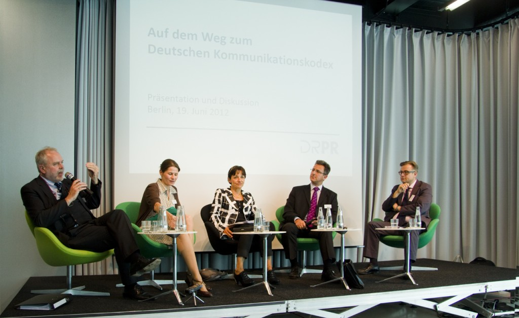 Podiumsdiskussion am 19.06.12, Berlin
